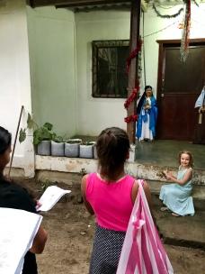 Kiara as Mary